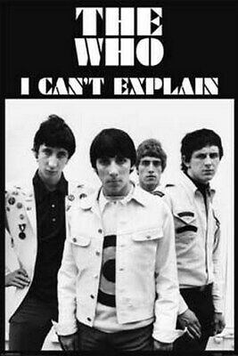 THE WHO POSTER I Can't Explain RARE HOT NEW 24X36