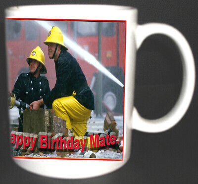 Fireman Firefighter Personalised Mug. Limited Edition.