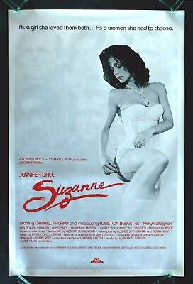 SUZANNE * CineMasterpieces ORIGINAL MOVIE POSTER ROLLED 1977 SUSAN SUSIE SUZY