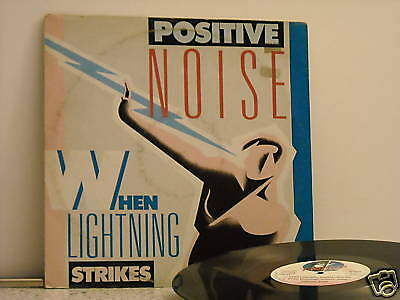# Positive Noise WHEN LIGHTNING STRIKES ITA Print.MAXI 12""