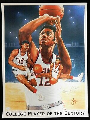 Oscar Robertson Signed Limited Edition Lithograph