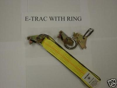 "Ring E-Track 2""short End For Ratchet Assy Tow Dolly"