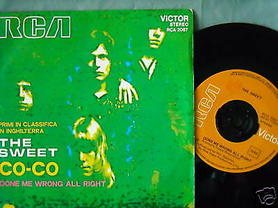 # The Sweet Co-Co Orig.ita'71 Top Rare (Ex+/ex-) 7""