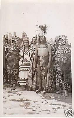 RPPC Mexico costums dress, native outfits 80504