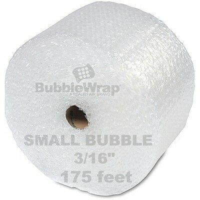 "Bubble Wrap 175 ft  x 12"" Small Sealed Air 3/16 Best"