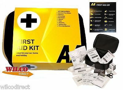 AA First Aid Kit Car Essentials Travel KIT FOR HOME CAR BOAT CARAVAN