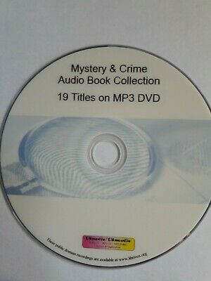 Huge Mystery &  Detective Audiobook Collection Mp3 DVD