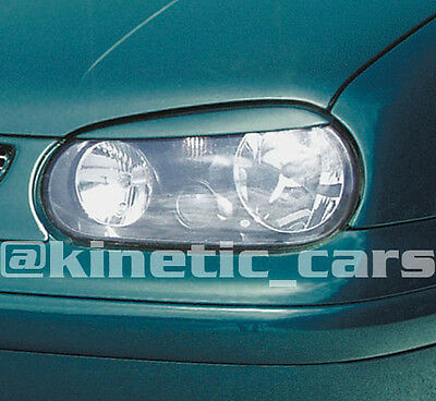 Volkswagon golf mk4 Headlamp eyebrows spoilers GTI V5