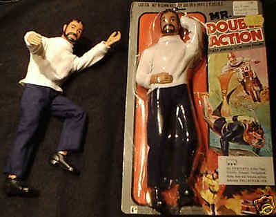 "Mr. DOUBLE ACTION aus 1975 Puppe 12 "" inch Figure 30 cm L. J. N. Toys LTD"