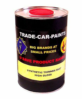 Car Paint Trade Synthetic Universal Thinners Fast Air Dry 1Lt