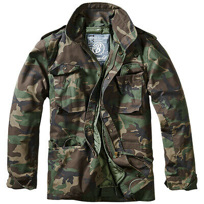 US FELDJACKE M65 mit Futter woodland S-5XL, Army Outdoor Parka tarn Fieldjacket