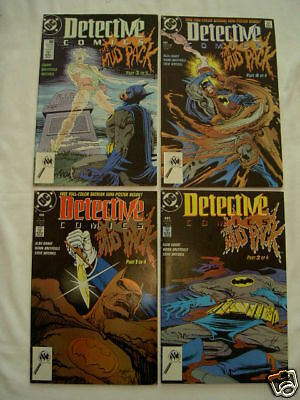 """Batman : Detective Comics 604,605,606,607 """"mud Pack"""".complete 4 Issue Story.1989"""
