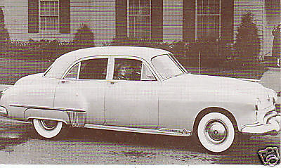 Dealer series 1949 Oldsmobile 98 4-door sedan 80914