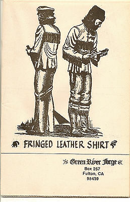 Green River Forge Fringed Leather Shirt Pattern