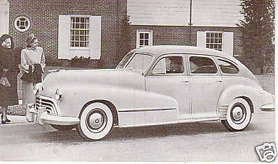 Dealer series 1948 Oldsmobile 76 78 4-door sedan 80916