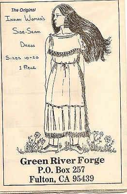 Green River Forge Indian Side Seam Dress Pattern