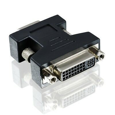 Adapter VGA Stecker DVI-I Buchse/ Monitoradapter PC TFT