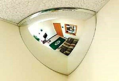 "90° Viewing Quarter Dome Mirror 32"" New In Box"