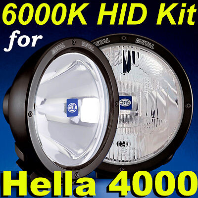 Hid Kit Xenon For Hella Rallye 4000 Spot Driving Lights