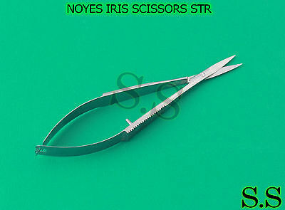 "Noyes Iris Scissors 4.5"" Str Ophthalmic Surgical Inst"