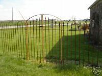 Center Divide GATE that works with our 4'Tall Fence