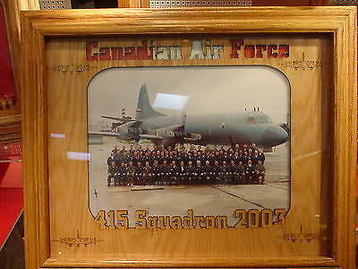 Laser Engraved Military Frame Mat for Pictures