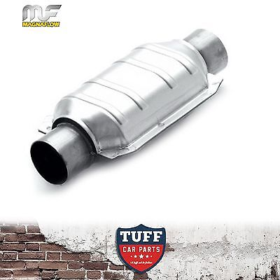 """Magnaflow High Flow 2"""" Inch Catalytic Converter Stainless Steel Body 91004 New"""