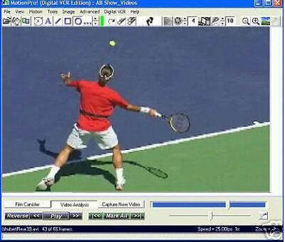 Motionpro! Tennis Coach Edition Video Anaysis Software