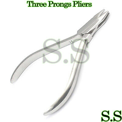 Three Prong Plier Orthodontic Dental Instruments