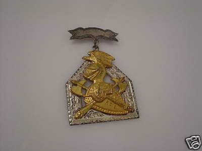 F.C.B. KNIGHTS OF PYTHIAS SUPREME LODGE BADGE PIN