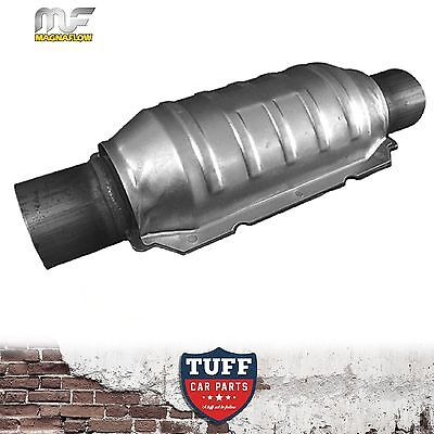 """Magnaflow 2.25"""" 200 CPI High Flow Metal Core Stainless Cat Catalytic Converter"""