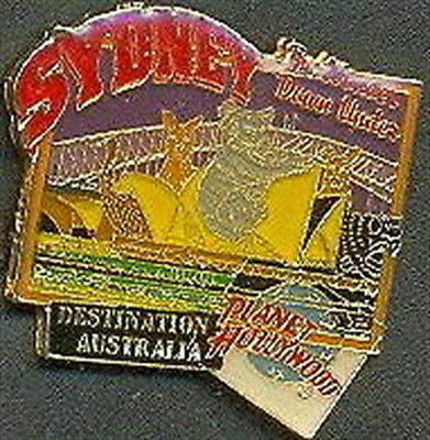 Planet Hollywood SYDNEY Destination Australia Harbour Bridge Koala Kangaroo Pin