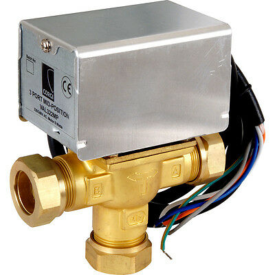 3 Port Mid Position Valve 22Mm Direct Replacement Honeywell V4073A1039 Val322Mp