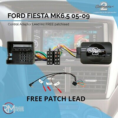 CONNECTS2 FORD FIESTA MK6.5 Steering / Stalk Stereo Lead Free Patch Lead
