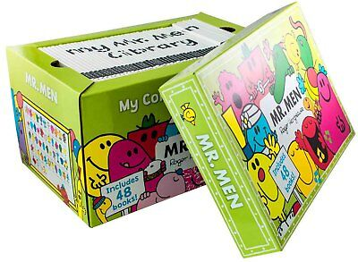 Mr Men My Complete Collection 47 Books Box Gift Set Roger Hargreaves NEW