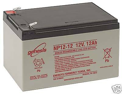 12Ah Battery 12V Sealed Lead Acid Battery Enersys