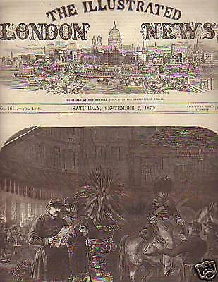 1870 Illustrated London News Sept 3 -Paris is Fortified