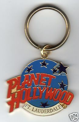 PH Fort Lauderdale Logo Keychain Planet Hollywood