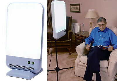 Diamond 4 Light Therapy SAD Lightbox Lamp - Treatment time only 30 mins SAD