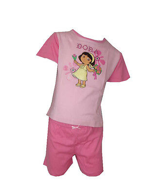 Dora The  Explorer 2 Peice Set Age 3-4 Years 92-98cm
