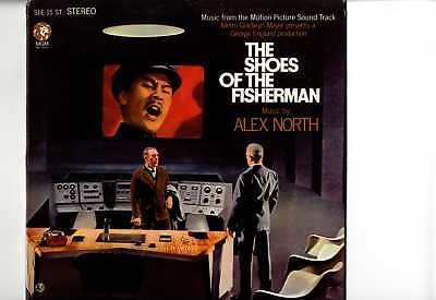 Alex North -Shoes Of The Fisherman ORIG USA 1968 OST LP