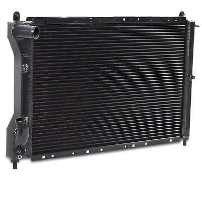 BLACK 40mm ALUMINIUM RACE SPORT RADIATOR RAD FOR FIAT COUPE 2.0 20V TURBO 96-99