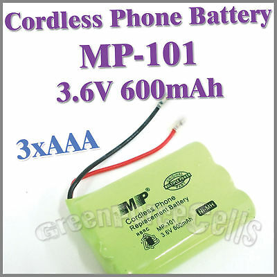 Cordless Phone Replacement Battery MP-101 3.6V 600mAh