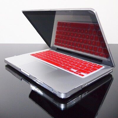 "RED Silicone Keyboard Cover for Macbook Pro 13"" 15"" 17"""