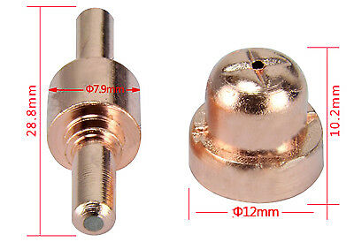 40A Air Plasma Cutter Consumable for PT-31 Torch 250PCS