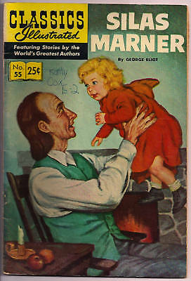 Classics Illustrated Silas Marner #55 HRN 166 Win69 SHIPS FREE