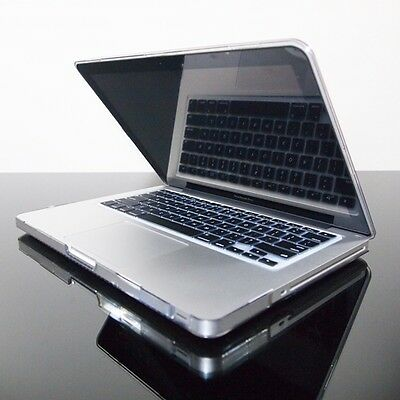 BLACK Silicone Keyboard Cover Skin for Macbook Pro 13""