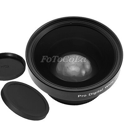 52mm 0.45x Macro WIDE Angle LENS 62mm Front Thread