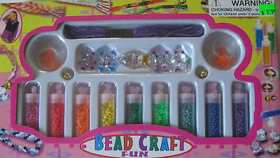 bead craft fun necklace kit, ages 3+.