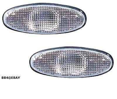 White Clear Side Guard Indicator Lights for Holden Commodore Clear VT Right Left